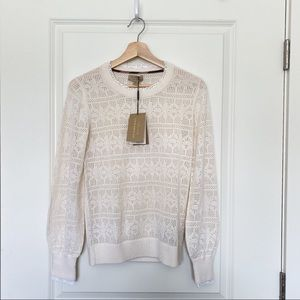 Authentic Burberry Knit Sweater